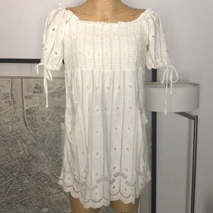 New Tularosa Mini cream dress Size M